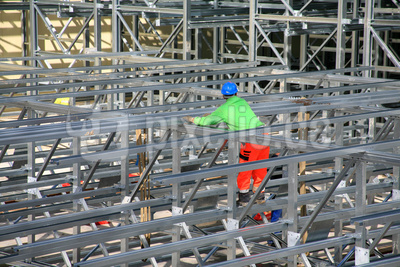 Stahlbauarbeiter