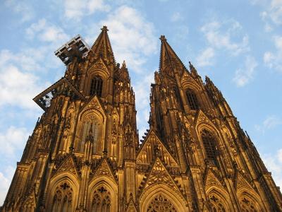 Die Türme des Kölner Dom