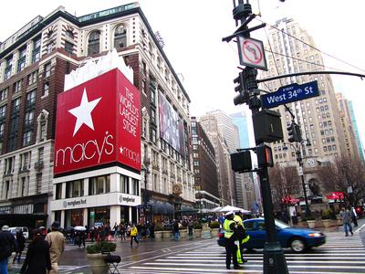 NYC - das berühmte Macy-Kaufhaus