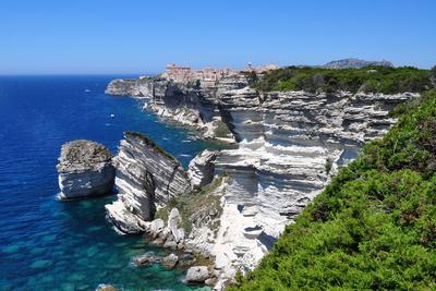 Korsika: Klippen bei Bonifacio