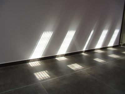 Licht- und Schattenspiele durch Oberlichter