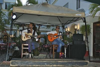 Musiker am Ocean Drive