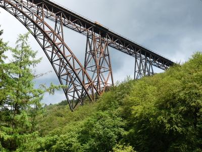 Gewitter über Müngstener Brücke