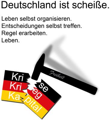 Deutschland ist scheiße.