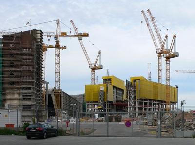 Baufortschritt EZB 16.07.2011