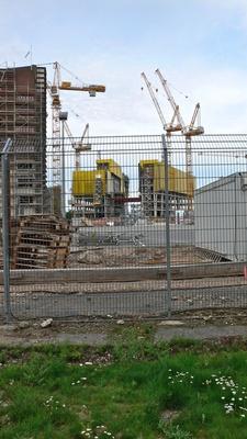 Baustelle EZB 16.07.2011