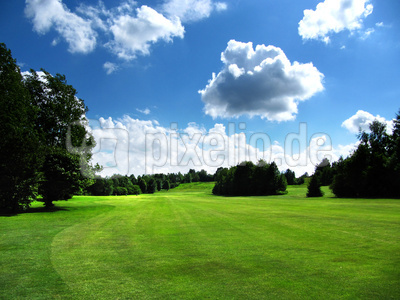 Golfplatz - Spielwiese der Golfer