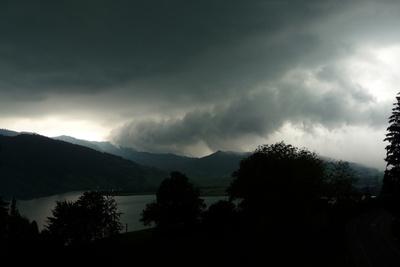 Sturm mit Hagelwetter