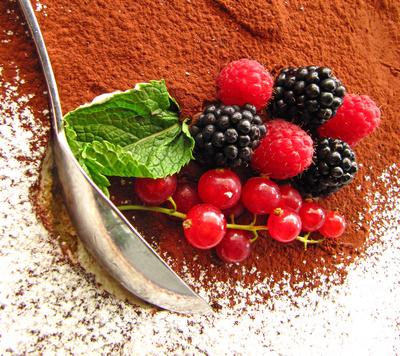 Tiramisu mit Frucht-Deko 2