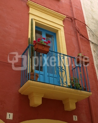 Balkon in Süditalien