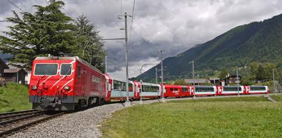 Glacier-Express . . . .