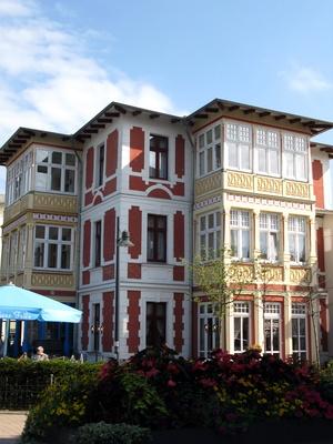 Häuser von Ahlbeck