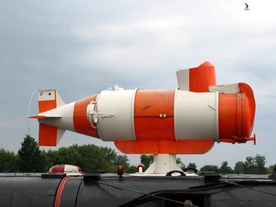 Rakete auf dem U-Boot