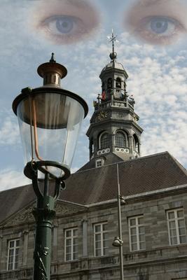 Blick auf Maastrichter Rathaus