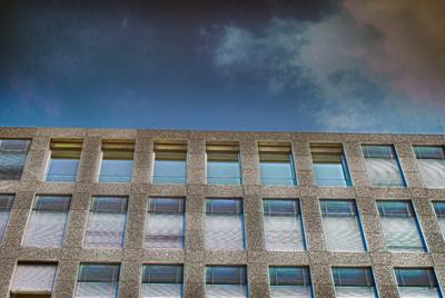 Fassade aus Granit - HDR
