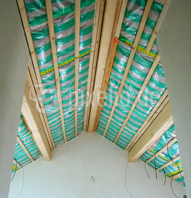 Neubau Dachisolierung