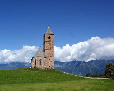 Kirche in Hafling Südtirol