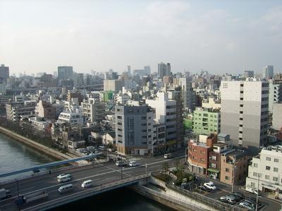 Blick über Tokyo