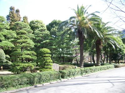 Kaisergarten in Tokyo