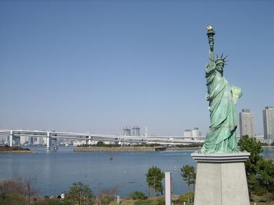 Freiheitsstatur in Tokyo