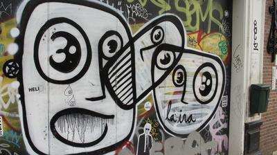 graffiti amsterdam eins