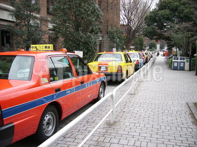 Taxistand  in Tokyo