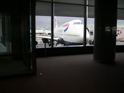 Flugzeug in Narita