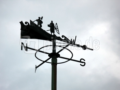 Windanzeiger von früher