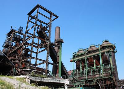 Stahlwerk Industriedenkmal Dortmund
