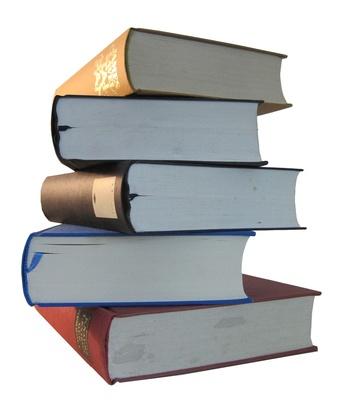 Buch auf Buch