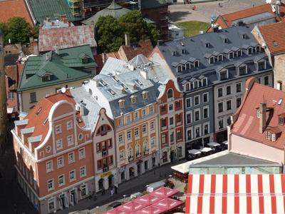 Riga (von Petrikirche) 1