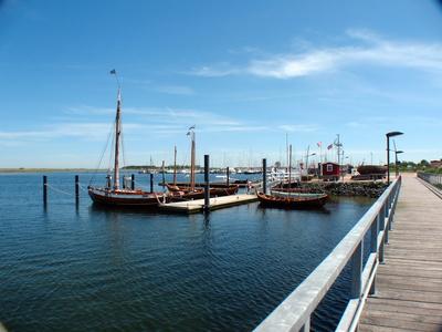 Marina Wendtorf Blick über den Museumshafen