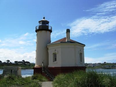 Coquille River Lighthouse von 1896