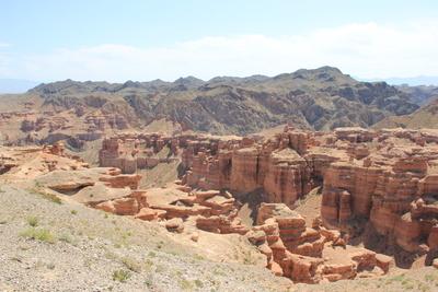 Charyn-Canyon-National-Park- Kasachstan