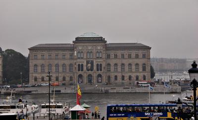 Schwedisches Nationalmuseum am Norrström