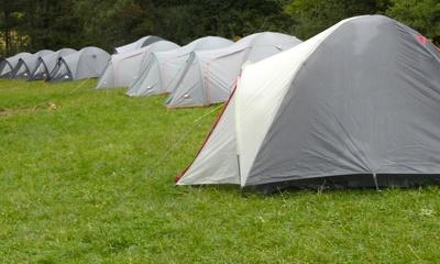 Zeltlager in Bayern
