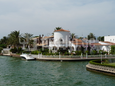 Kanal in Empuriabrava