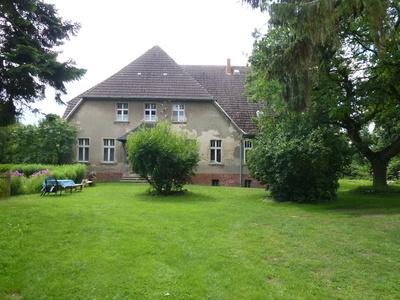 Altes Wohnhaus in Liepe auf Usedom