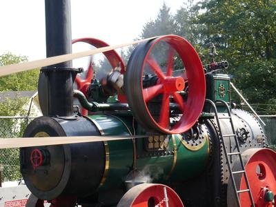 Mobile Dampfmaschine . . .