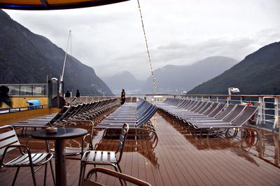 Verregnete Fjorde