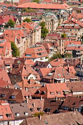Die Dächer der Stadt