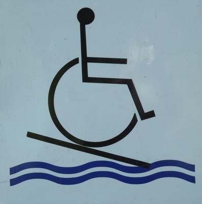 Gefahr für Behinderte