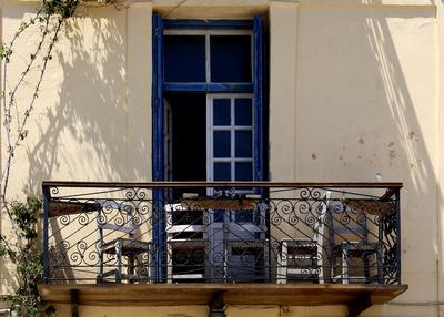 Balkon in Kreta