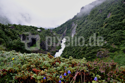 Norwegische Berglandschaft