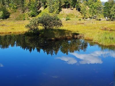 Der See ein Spiegel