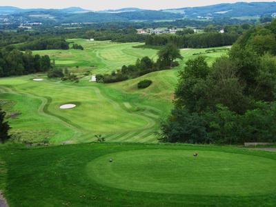Golfanlage bei St. Wendel im Saarland