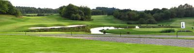 Golfplatz-Panorama Sankt Wendel im Saarland