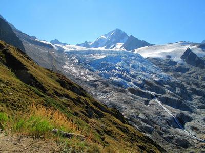 Aiguille de Chardonnet und Glacier du Tour