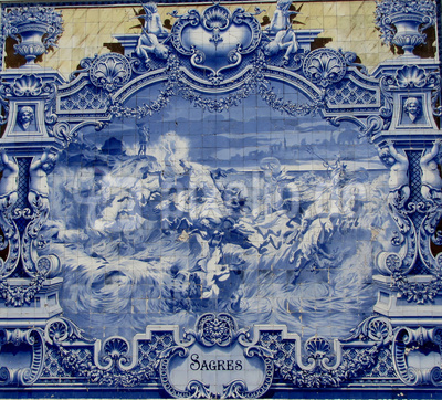 "Azulejo ""Sagres"""