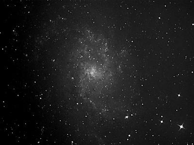 M33 die Nachbargaöaxy von M31
